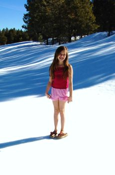 shorts in snow 2 by danijean