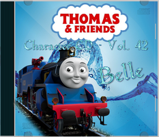 Thomas and Friends Character CD Vol 42 Belle by Galaxy-Afro