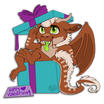 Dragon in a box .:YCH:. by Kibanz
