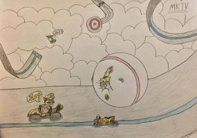P-Balloons in Mario Kart 8? (2/2) by WarioTheInflator
