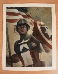 CAP Painting by ChrisBMurray
