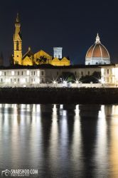 Florence Cathedral at night by mystic-darkness