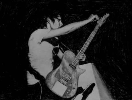 Matthew Bellamy 2008-1 by Claire-Elise17