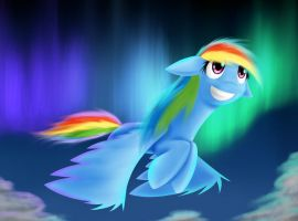 Breaking Free~ Rainbow Dash by AviAlexis25