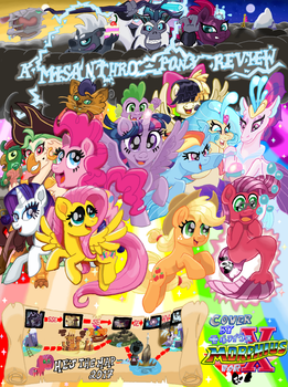 MLP ~ FIM - The Movie (MAP Postercard) Variant by MorphiusX
