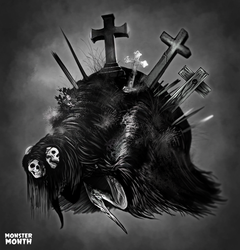 MONSTERMONTH No.11 - Gothic Horror by hubertspala