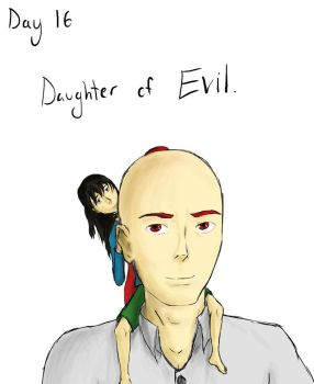 Day 16: Daughter of Evil by Joey-Lanuza