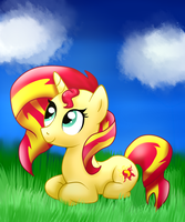 Sunset Shimmer by cooky-the-cat