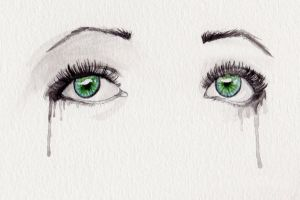 Watercolor eyes by FrostedWatercolor
