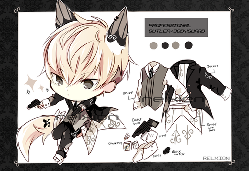 [AUCTION*CLOSED]Lineheart*4 by Relxion-kun