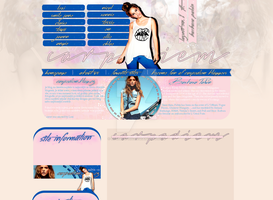 Barbara Palvin Layout by Lexigraphic