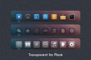 Transparent for Plank by 1inux
