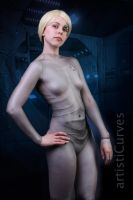 Seven of Nine body paint 2 by shelle-chii