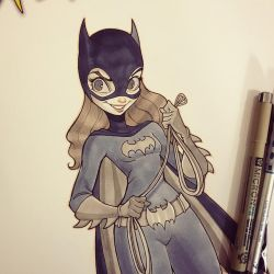 Batgirl by ChrissieZullo