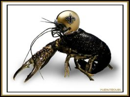 NFL Saints - Rally Crawfish by yurintroubl