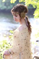 Padme Meadow Picnic Cosplay 3 by aurorarogerskywalker