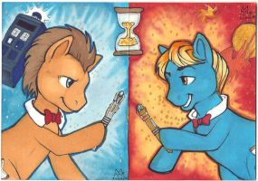 My little Timelords by Sukeile