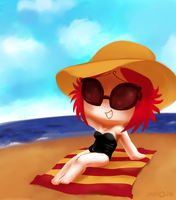 Ruby at the Beach by empty-10