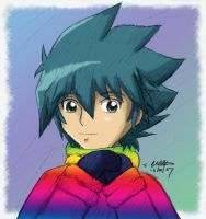 -YGO GX- Rainbow Jumper by pdutogepi