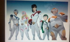 Working on the Voltron Squad by braeonArt