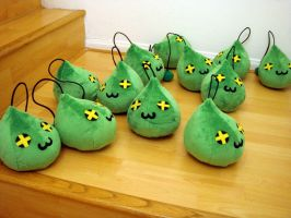 MapleStory Plush Slimes 6 by TheCurseofRainbow