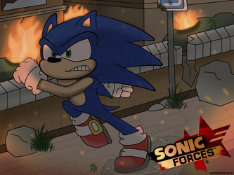 SONIC FORCES! by JaredSteeleType