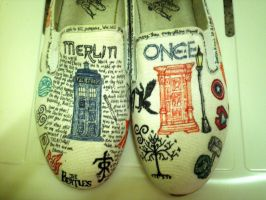 Nerd Shoes by CloudedInfluence