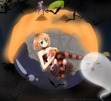 Belated Halloween by april4luck