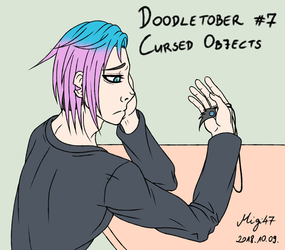 Doodletober 07: Cursed Objects by Migi47