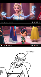 My Reaction to Wreck It Ralph 2 Trailer by DatAnarcho-DemonBoi