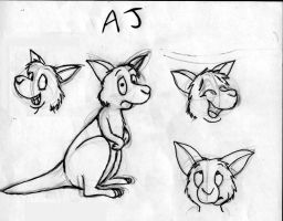 AJ The Wallaby by Whatupwidat