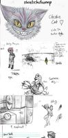 Sketchdump by beverly546