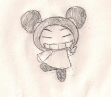 Pucca Pose by ZeoLightning