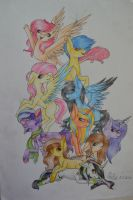 Group Art - Traditional Art Requests by AdaKola