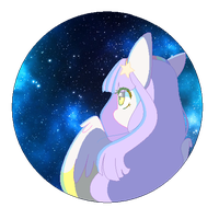 Look at the galaxyyyy by LightlyCandy