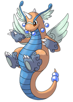 Mega Dragonite by AlphaXXI