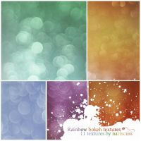 Rainbow Bokeh Textures by Nariscuss