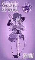 Lavender Spinel (Fusion) by Geminine-nyan