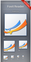 Icon Foxit Reader by ncrow