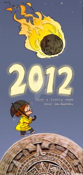 Positive Vibes for 2012 by Pika-la-Cynique