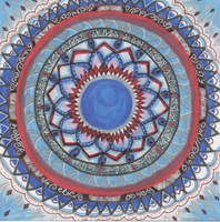 Game of Thrones Tully Mandala by allysorge