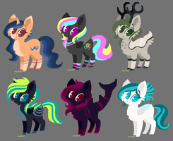 + Pony Adopts + OPEN 2/6 + CHEAP + by MAYHEM-ADOPTS