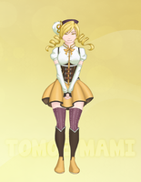Magical Girl Tomoe Mami by GlowingMember