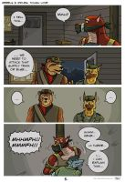 Comic Tough love p5 by SteinWill