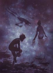 Star Swimmers by Biffno