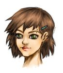 Close up girl by kozmica64
