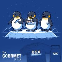 The Gourmet - tee by InfinityWave
