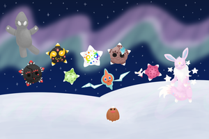 [PKMNation] February 2018 Week 4 - Northern Lights by tarje