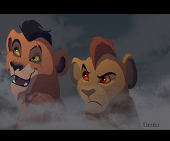 Scar and Mufasa for Live Stream by Timitu