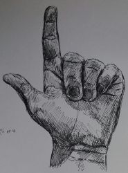 hand study3 by spacelasagna
